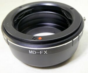 Minolta-MD-MC-Lens-to-FX-Camera-mount-adapter-Fuji-Fujifilm-X-Pro-1-2-T10-X-M1