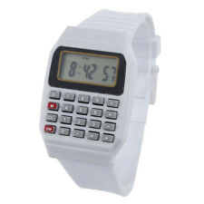 Children Electronic Calculator Silicone Date Multi-Purpose Keypad Wrist Watch