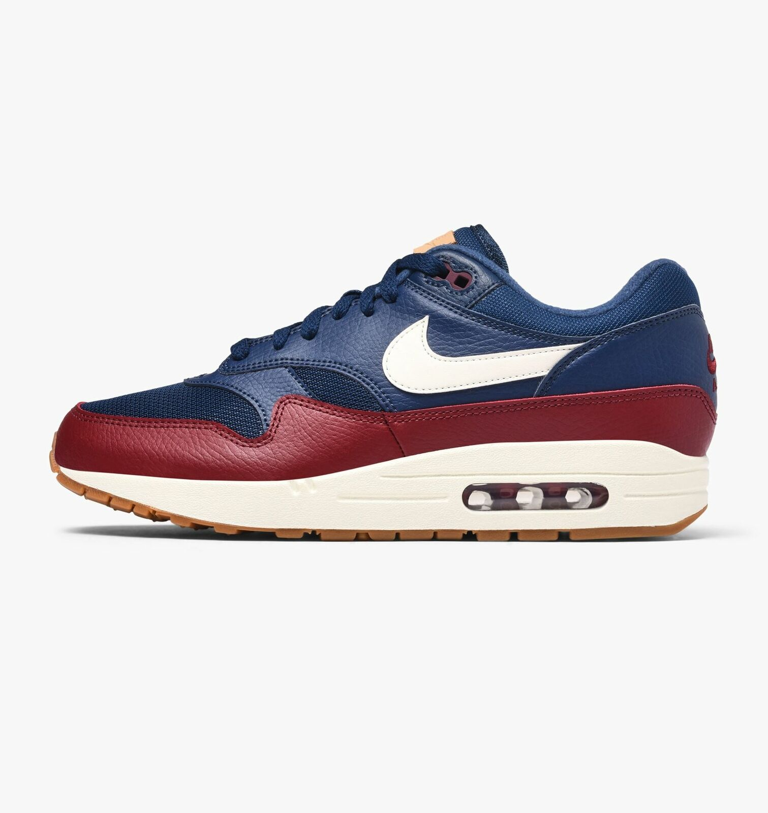 Nike Mens Air Max 1 Navy Team Red Trainers AH8145 400