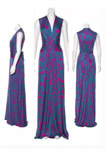 ISSA-Wrap-Dress-UK-Size-12-USA-Size-8-Stunning-Gown