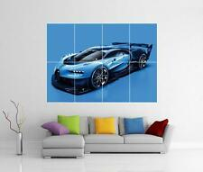 BUGATTI CHIRON GRAN TURISMO GIANT WALL ART PICTURE PHOTO POSTER