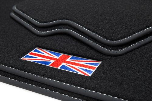2006-2014 Exklusive Union Jack Fußmatten für Mini 2 II R56 Bj