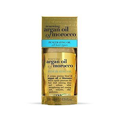 5 Pack Organix Renewing Argan Oil Of Morocco Penetrating Oil 3.3 Oz Each