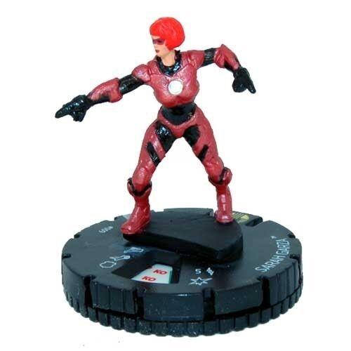Marvel Heroclix Nicky Fury Agent of SHIELD SARAH GARZA #009