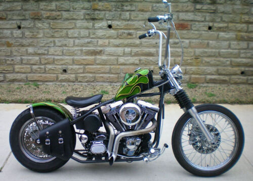 SINGLE SIDED SWING ARM SADDLE SIDE BAG HARLEY /& SOME TOURING MODEL CHOPPER RIGHT