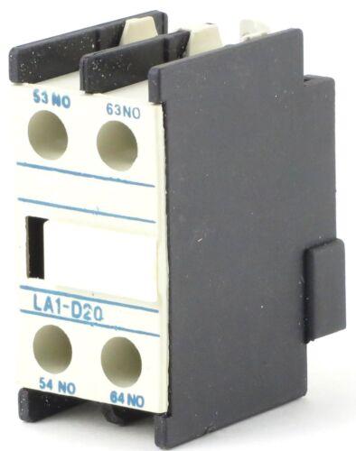 Auxiliary Contact Block Front Mount Replacement Telemecanique Series LA1DN LADN