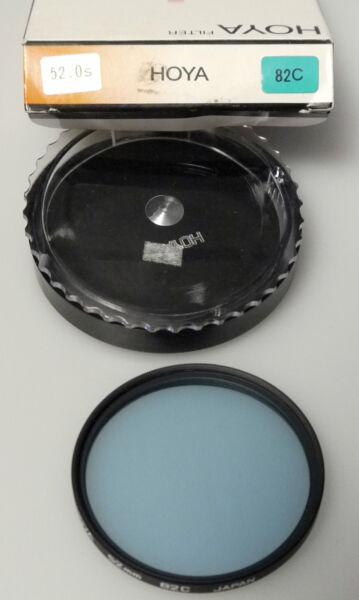 (prl) Hoya Blue Bleu Blu 82c 52 Mm Filtro Foto Photo Filter Filtre Filtar Filtru Finement Traité