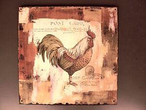 Cartel-de-Pared-Hierro-Pollo-Derecho-Antiguo-Vintage-Regalo-Decorativo-Anuncio-amp