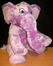 Kohl's Cares for Kids Plush Purple Elephant - The Nose Book by Al Perkins - VGC