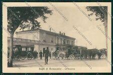 Pistoia Montecatini Stazione cartolina QQ1532