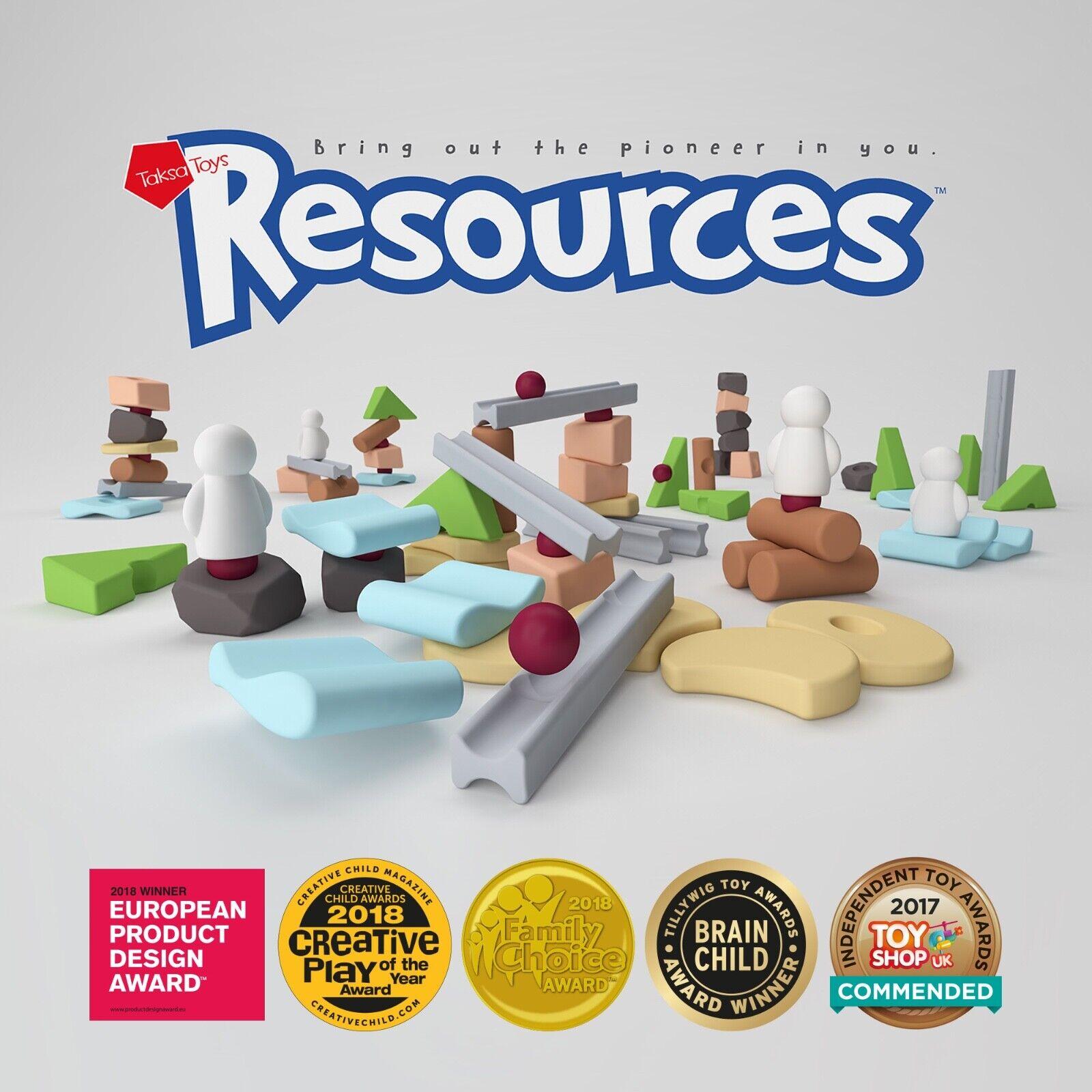 Taksa Toys Recursos Expert 144 Partes Nuevo   Emb . Orig Creativa Juguete