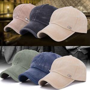 5-Farbe-Herren-Damen-Basecap-Cap-Kappe-Baseball-Muetze-Baseballcap-Sport-Hut