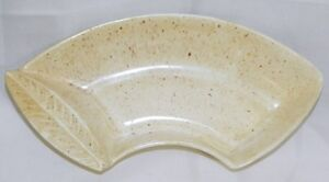 California-Pottery-Snack-Dish-Curved-Serving-Tray-L44-MCM-Mid-Century-Modern