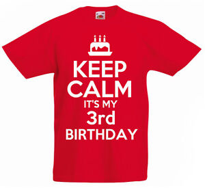 Image Is Loading Keep Calm It 039 S My 3rd Birthday