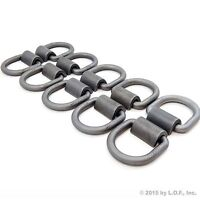 10 Flatbed Truck Trailer Cargo Tiedown Weld-on D-ring 1/2 Anchor Tie Down Point