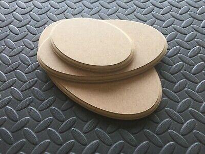 In Legno Mdf Ovale Craft Placca Plinto Vuoto Modello Trophy Display Stand 12mm Mdf- Rafforzare L'Intero Sistema E Rafforzarlo