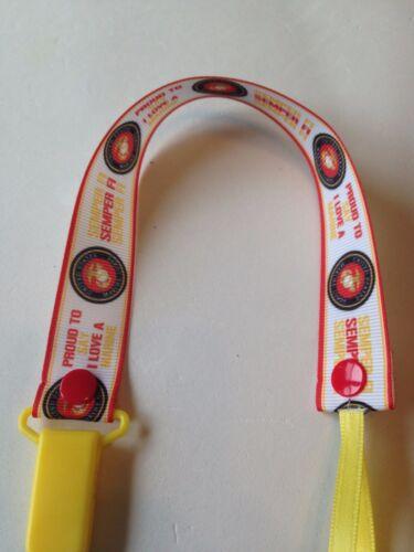 Hero Firefighter Handmade Pacifier Holder Military