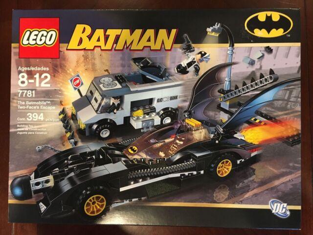 Lego Batman Two Faces Escape 7781 Ebay