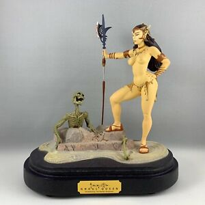 Frank-Frazetta-Ghoul-Queen-Statue-Figure-2002-Limited-Edition-Rare-No-Box
