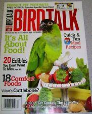 **BIRD TALK MAGAZINE Dec 06 Feeding Parrot Healthy Diet Pellets Veggies Vitamins