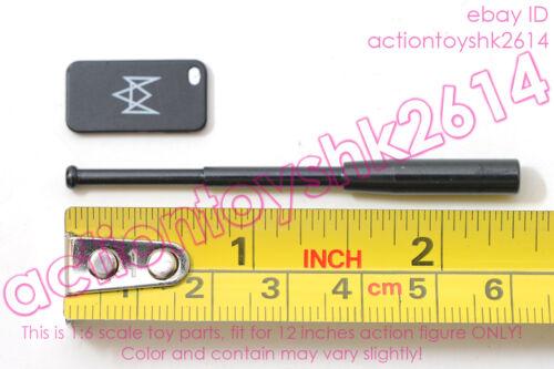 police baton 1//6 Scale VTS Toys VM-016 NIGHTMARE STALKER phone