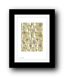 GEORGE-MICHAEL-wham-FATHER-FIGURE-song-lyrics-poster-art-edition-print-18