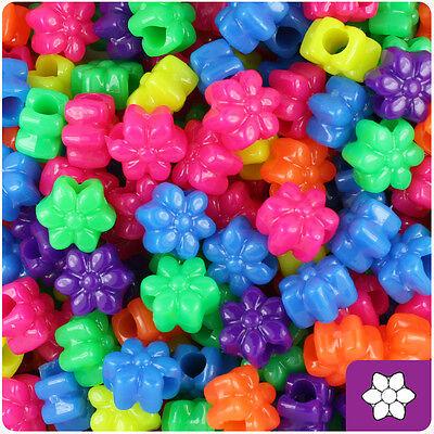 Bright Plastic Pony Beads x 1000 KW3163P