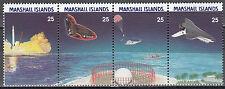 Marshall Islands Nr. 199-202** 30 Jahre NASA