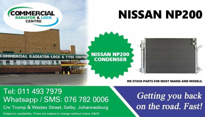 Condenser For Nissan NP200 For Sale