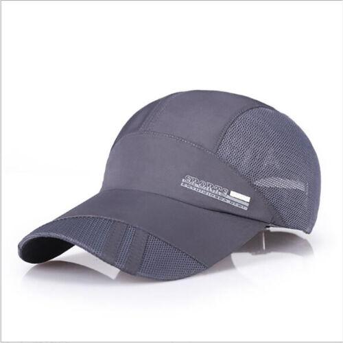 Men Women Baseball Flat Cap Sunshade Mesh Back Outdoor Hunting Military Cool Hat