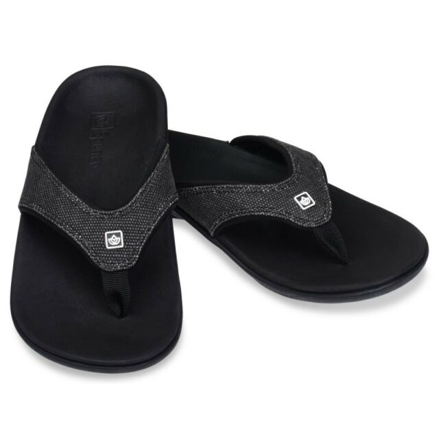 new concept 19161 5cbe1 Spenco Women s Yumi Canvas Total Support Sandals, Black (Mult. Sizes  Available)