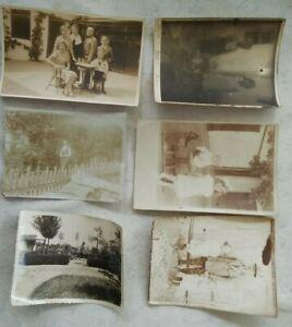 Konv-6-Stk-alteFotos-einer-Familie-Winkler-Linz-aus-der-Zeit-1917bis1937-A2761