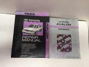 1999 Toyota Avalon OEM Factory Repair Manual and ...