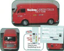 DECALS 1/43 x FIAT 238 FURGONE ASSISTENZA LANCIA M.......O 1972/74  Arena Tk006