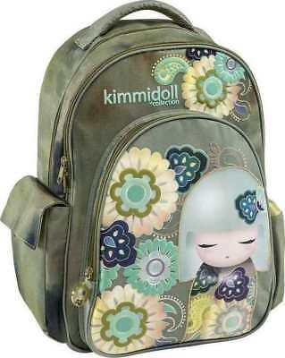 Nueva Mochila Kimmidoll Verde Original Bolso Escolar 30cmX44cmX14cm artículo: 163212 | eBay