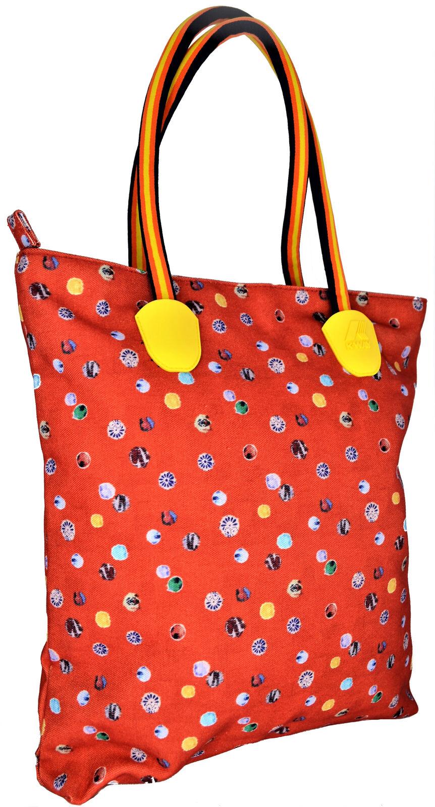Shoulder Bag Woman orange K-Way Bag Woman K-Sun Ns Shopper orange
