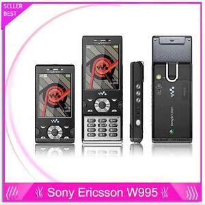 sony ericsson w995 w995i mobile phone 3g wifi bluetooth gps 8mb rh ebay com Sony Ericsson W380 Sony Ericsson K850i
