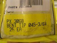 Profax 3068 (2) Bent Contact Tip Airco Style 045-3/64