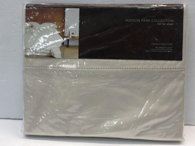 Hudson Park Woven King Comforter Cover 600 Thread Count 100/% Egyptian Cotton Silver Stripe