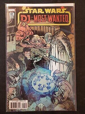 2018 Most Wanted #1 Rod Reis Variant NM Marvel Comics 1st Print DJ