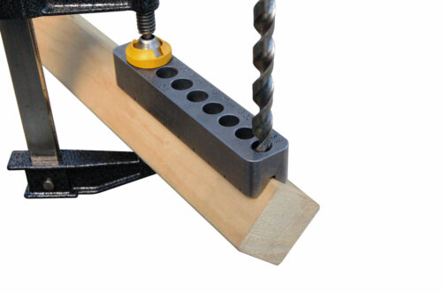 """Large Drill Bit Guide comparable to a portable drill press 3//8/"""" thru 1//2/"""""""