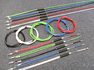 BMX-Gyro-Brake-Cables-COMPLETE-CABLE-SET-Front-Rear-UPPER-LOWER-Rotor