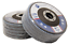 "5 Pack 4.5"" x 7//8/"" Professional 80 Grit Zirconia Flap Disc Grinding Wheels T27"