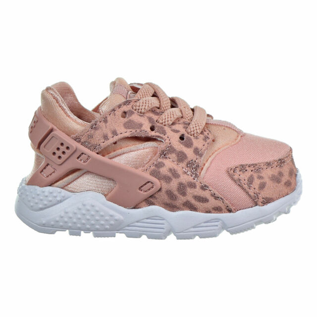 fc3b3fdd6932 Nike Huarache Run SE 10c (td) Toddler Coral Stardust rust Pink 859592 603  for sale online