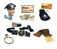 PIRATE COSTUME PARTY FANCY DRESS  ACCESSORIES ALL KINDS
