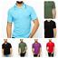 Men-039-s-Polo-T-Shirt-D-amp-H-100-Cotton-short-sleeve-Tipped-Collar-Tops