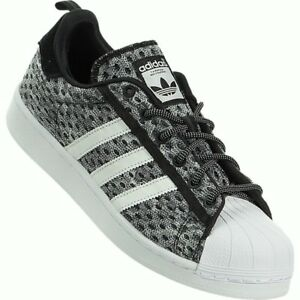 Image is loading ADIDAS-ORIGINALS-SUPERSTAR-GID-GLOW-MENS-TRAINERS-BLACK-
