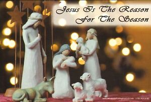 Jesus-Is-The-Reason-For-The-Season-Keep-Christ-in-Christmas-25-Postcards-NEW