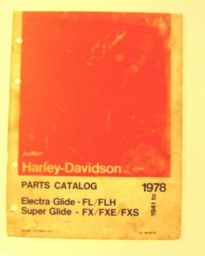 1941-1978 Harley-Davidson Parts Mn.Electra Glide FL//FLX Sup//Glide FX//FXE//FXF
