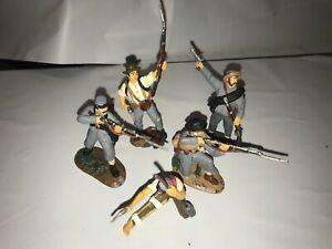 TSSD Confederate Firing Line Infantry Butternut Set #1B